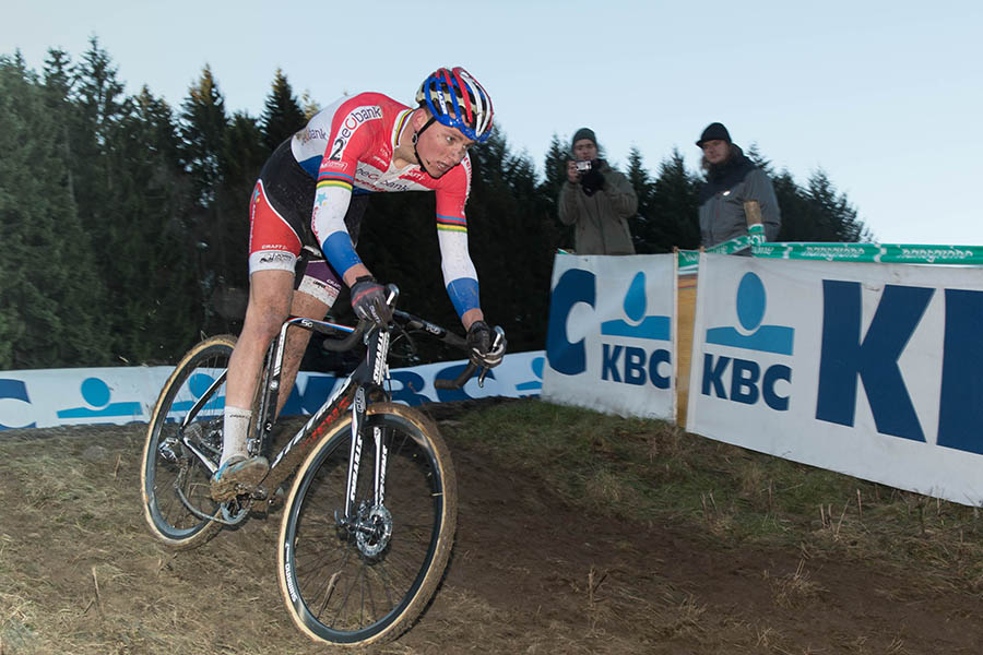 Van der Poel is tweede in Francorchamps